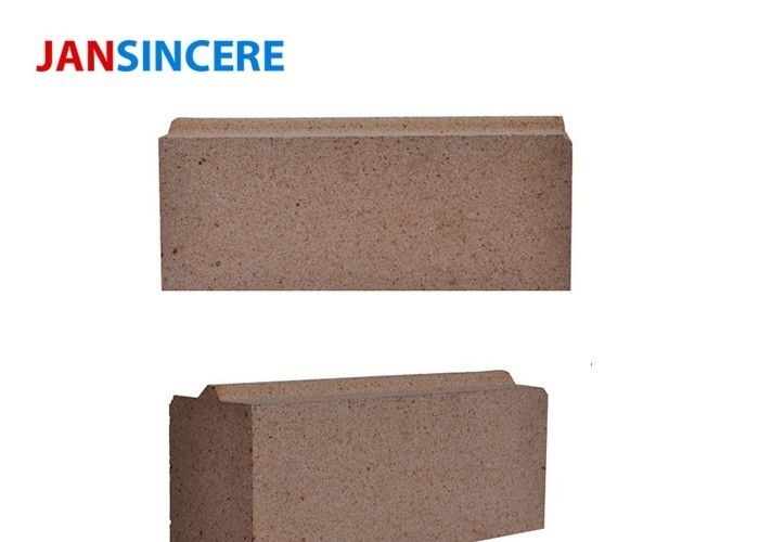 Custom Low Duty Fire Clay Bricks Good Erosion Resistance For Cement Kiln