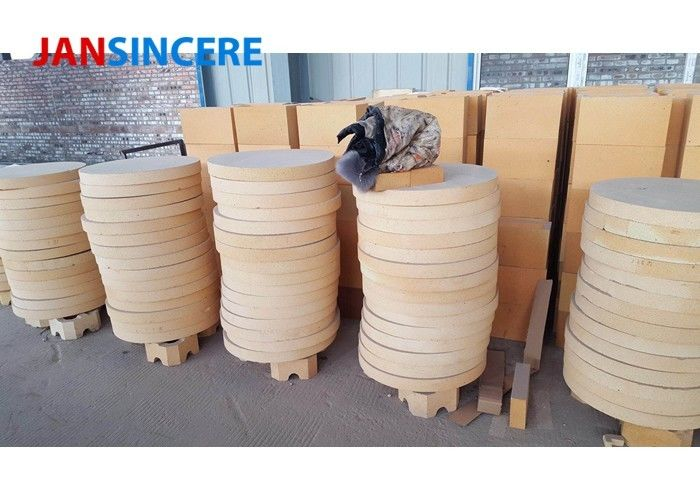 Al2O3 75% Cement Kiln High Alumina Refractory Bricks For Carbon Furnace