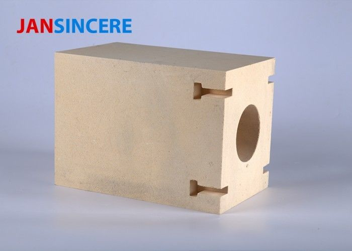 Square High Mechanical Strength Zirconia Bricks , Refractory Fire Bricks