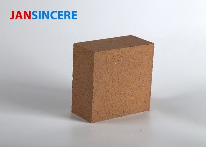 Sintering Zone Magnesite Refractory Bricks High Heat Brick Good Crushing Strength